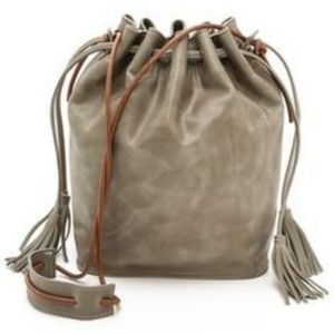 Monserat de Lucca Sacha Bucket Leather Bag